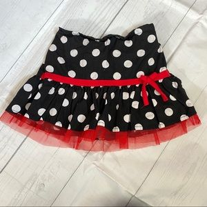 Disney Girl's Size 4T Minnie Mouse Skirt
